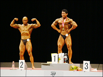 Men Over 90 kg Category