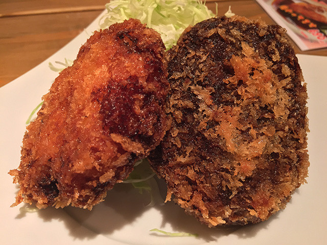 Whale Meat Croquettes