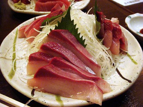 Yellow Tail Sashimi