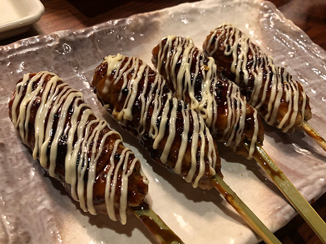 Teriyaki Chicken Meatball with Mayonnaise