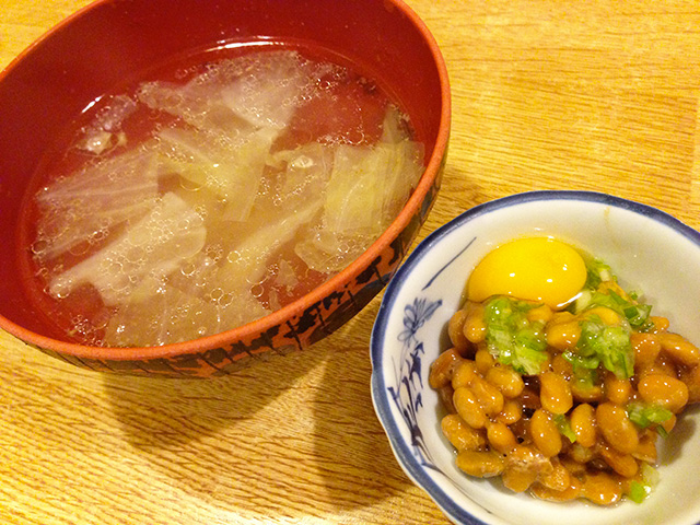 Soup and Natto