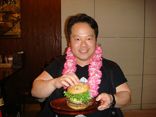 Dr. MaCHO with Avocado Burger