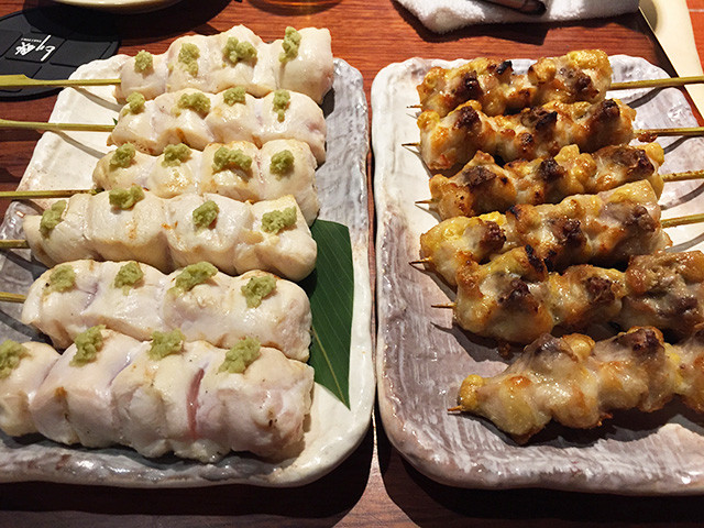Assorted Yakitori