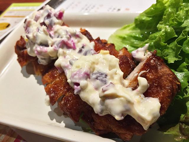 Deep-Fried Chicken with Tartar Sauce