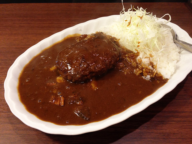 Hamburg Curry with Cheese