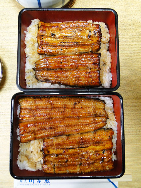 Eel on Rice Take and Ume