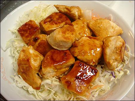 Teriyaki Chicken with Shredded Cabbage