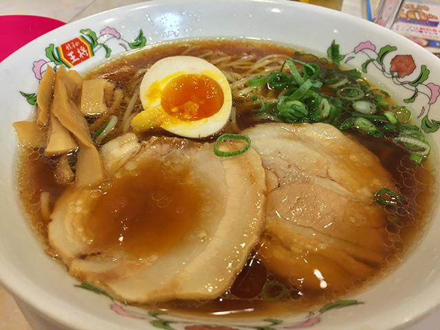 Soy Sauce Soup Noodle