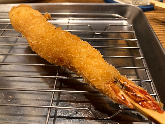 Deep-Fried Prawn