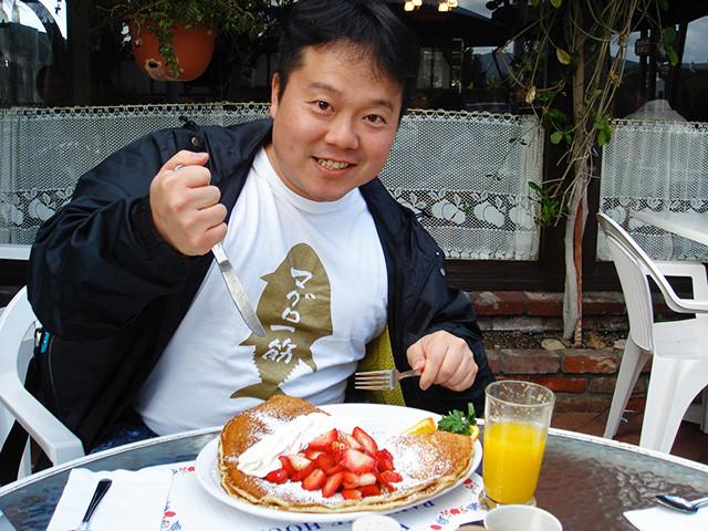 Dr. MaCHO with Pancake