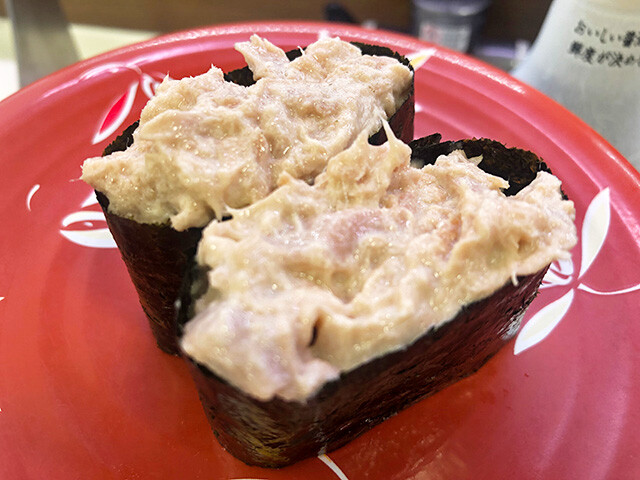 Tuna and Mayonnaise Sushi Roll