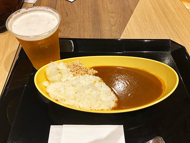 Tonkotsu Curry with Draft Beer