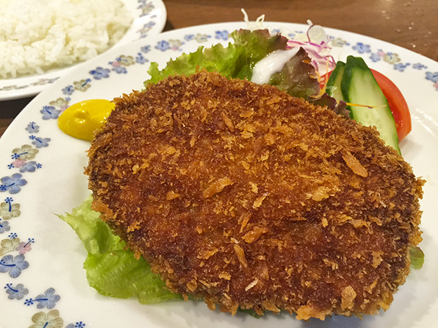Set Meal of Minced Berkshire Pork Cutlet