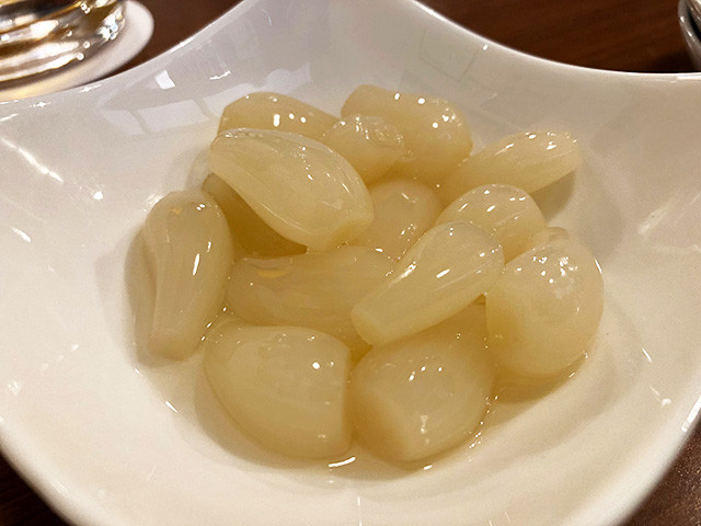 Pickled Japanese Leek