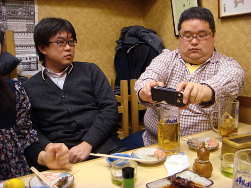 Mr. Debunaga and Mr. Tokumori