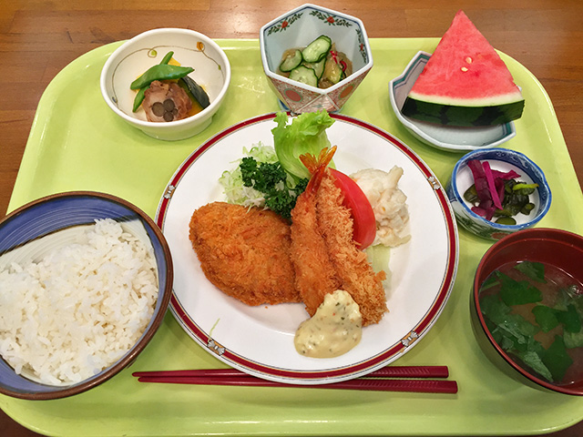 Lunch in Takasaki
