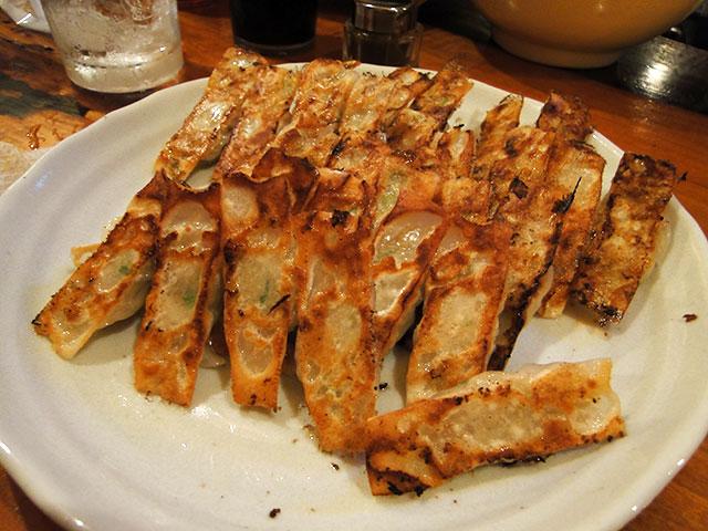 Bite-sized Gyoza Dumplings