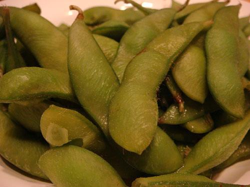 Boiled Edamame Soybeans
