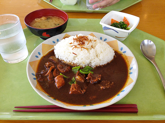 Beef Curry with Asparagus