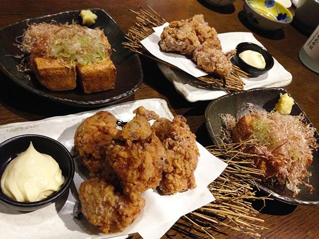 Deep-Fried Chicken and Tofu