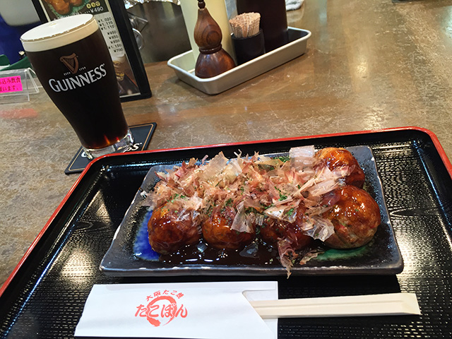 Takoyaki and GUINNESS