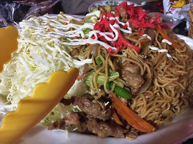 Yakisoba with Cabbage