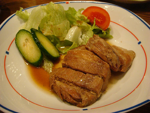 Simmered Fatty Pork