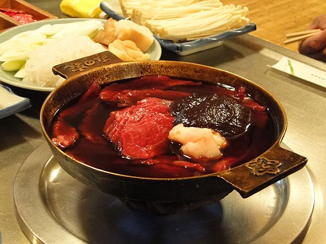 Horse Meat Hot-Pot