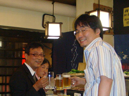 Yuki-don, Tequila-san, and Dr. CHONPS