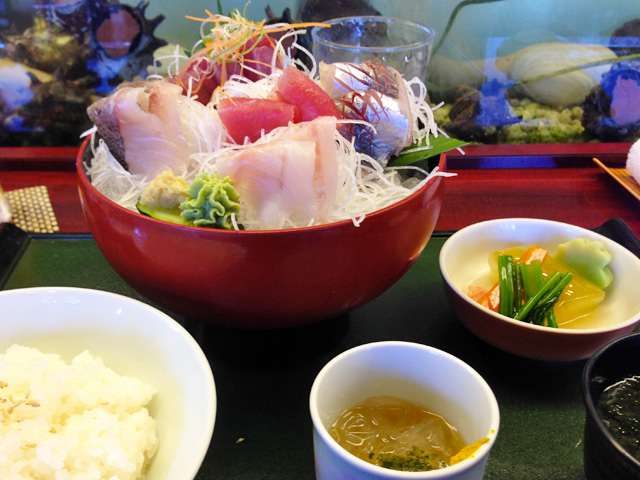 Assorted Sashimi Set Meal