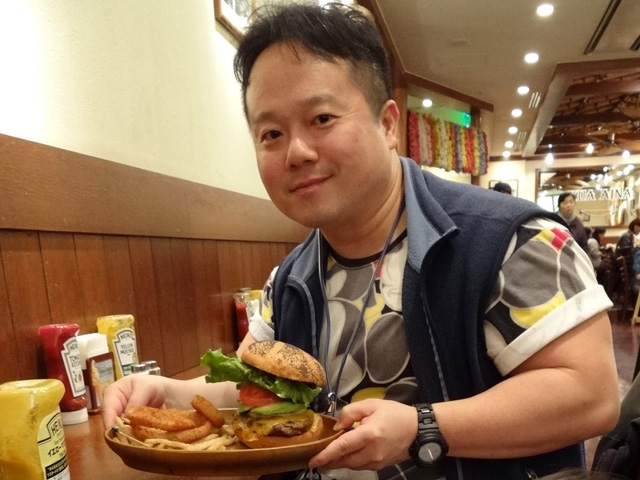 Dr. MaCHO with Avocado Cheese Burger