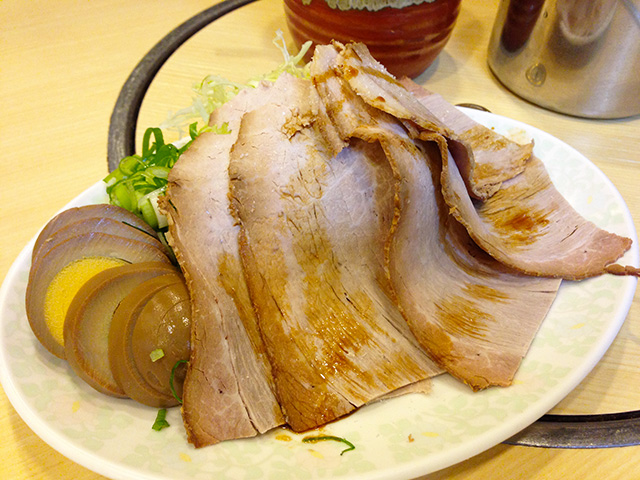 Roast Pork with Hard-Boiled Egg