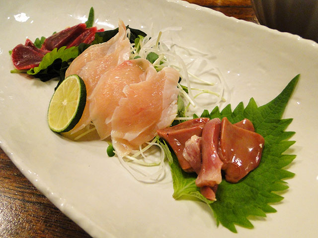 Nagoya Cochin Assorted Sashimi