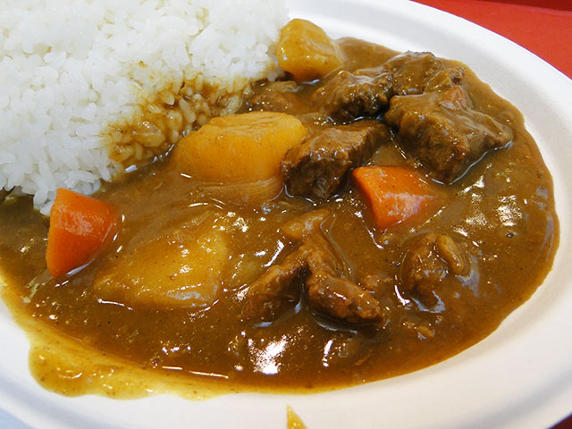 Pork Curry and Steamed Rice