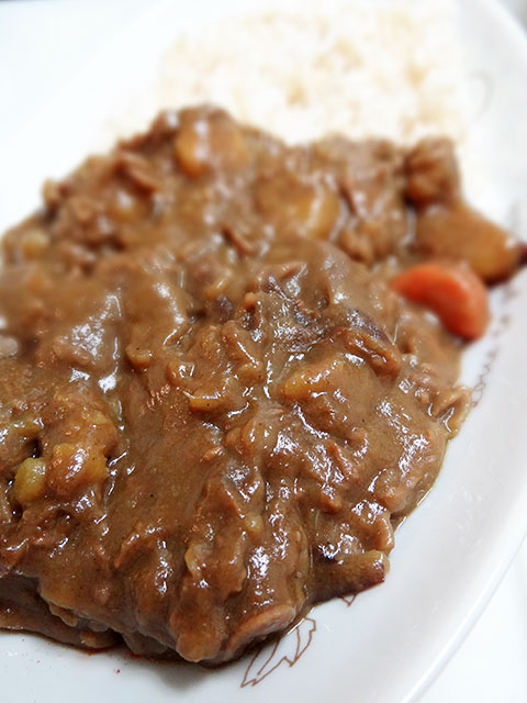 Homemade Low Fat Beef Curry with Cheese