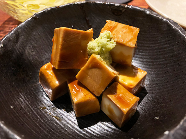 Pickled Cream Cheese in Yakitori Sauce