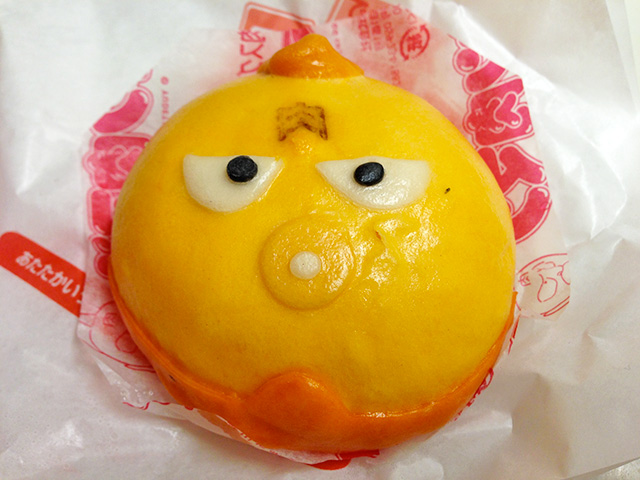 Kinnikuman Shaped Steamed Beef Bun