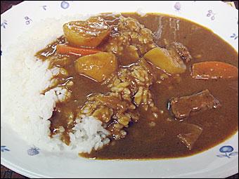 辛口カレー
