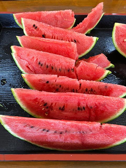 Watermelon of Tokushin Ichiba