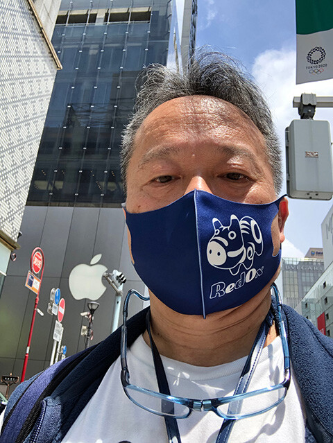 Dr. MaCHO at Apple Ginza
