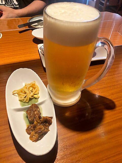 Draft Beer and Appetizers