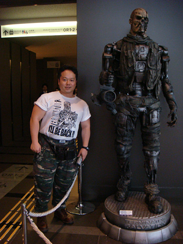 T-600 and Me