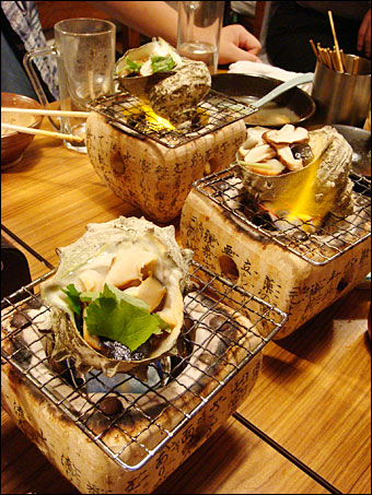 Turban Shell Cooked in the Shell