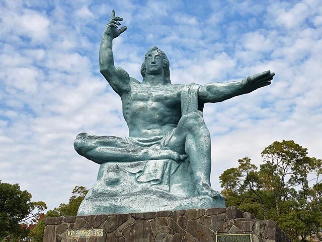 Peace Statue in 2018