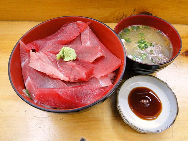 Tuna Rice Bowl with Miso Soup