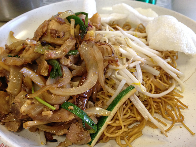 Fried Beef with Noodles