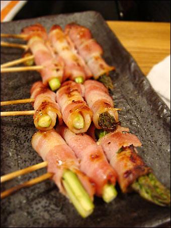 Asparagus Lardons
