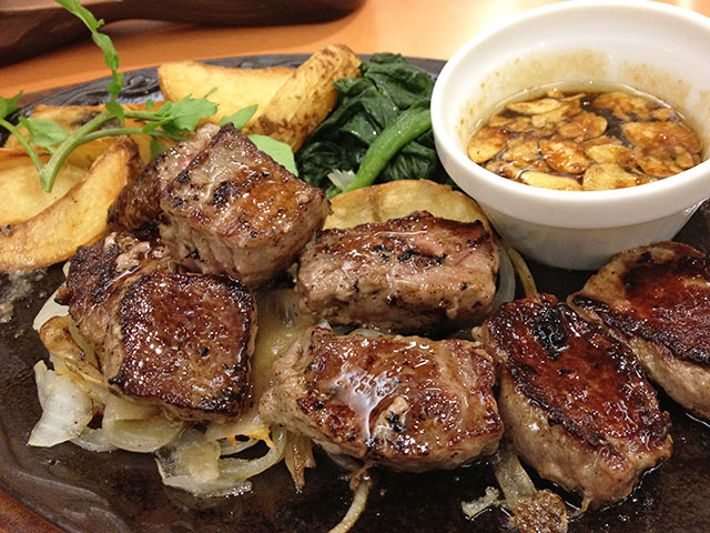 Bite-Size Sirloin Steak