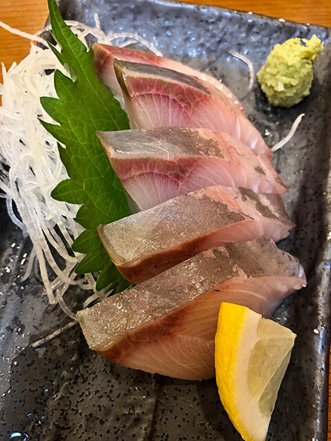 Adult Yellowtail Sashimi