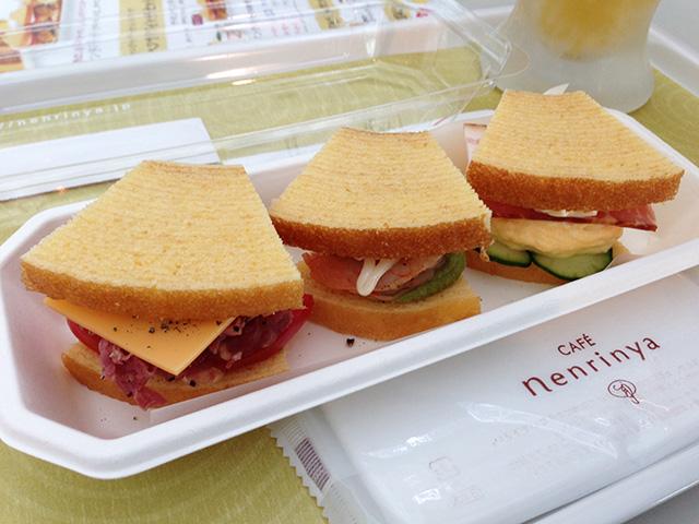 Baum Kuchen Sandwich